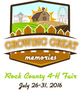 Rock County 4-H Fair 2016 Logo